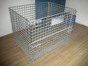 Collapsible Steel Wire Mesh Container