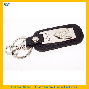Custom Souvenirs Egypt Logo Leather Key Ring