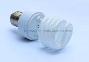 25W Half Spiral Energy Saving Lamp E27/B22 pictures & photos
