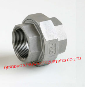 Stainless Steel Pipe Fitting of Union, Female pictures & photos