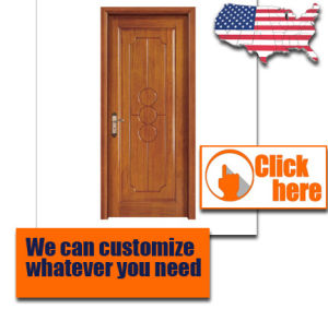 Modern Design Solid Wood Interior Swing Timber Door For Construction And  Decoration