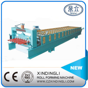 New Type Trapezoidal Roofing Sheet Roll Forming Machine pictures & photos