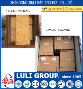 Poplar/Pine/Combi OSB Board From Luli Group with High Quality pictures & photos