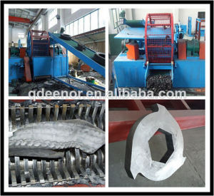 Qingdao Eenor SGS ISO: 9001 Rubber Shredder Machine pictures & photos