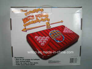 Inflatable Party Floating Beer Pong Pool Table Game (IT002) pictures & photos