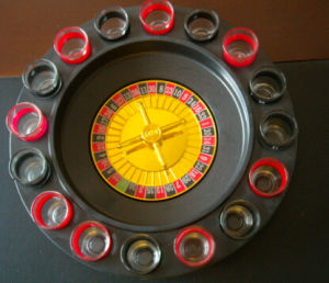 Drinking Roulette Game with 16 Cup
