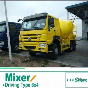 6 M3 HOWO 6X4 Concrete Mixer Truck