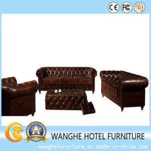Hotel Restaurant Project PU Leather Leisure Chair Sofa pictures & photos