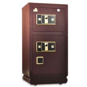 Double Door Fingerprint Safe with High Quality