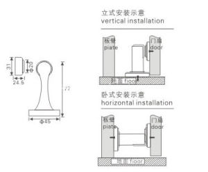 (KTG-951A2) Stainless Steel Durable Door Holder pictures & photos