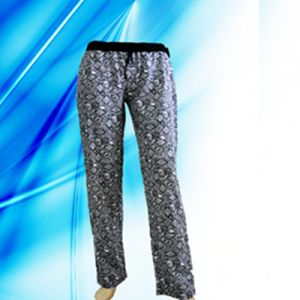 100% Cotton Lady′s Allover Print Lounge Pants pictures & photos