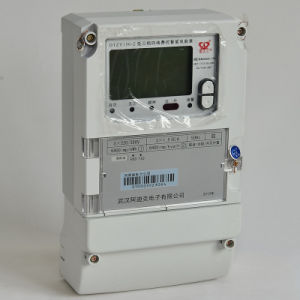 High Quality Three Phaseload Control Smart Electric Meter with Relay pictures & photos