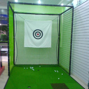 China Indoor Golf Target Practice Net Golf Club Cage Net - China ...