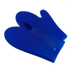 Silicone Hot Kitchen Pot Holder Glove Oven Mit (EB-93256) pictures & photos