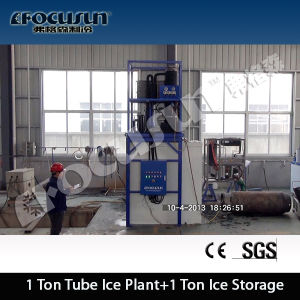 Focusun 20tpd Tube Ice Maker and Packing Machine pictures & photos