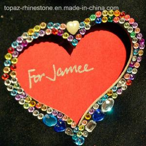 Heart Crystal Sticker Rhinestone Epoxy Sticker for Book pictures & photos