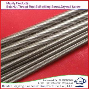 Threaded Rods Zinc DIN975, Zinc Plating, Full Buckle Screw pictures & photos