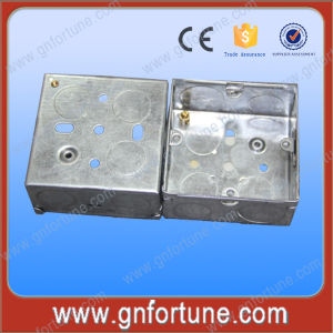 3*6 Two Gang Double Electrical Metalic Outlet Boxes pictures & photos