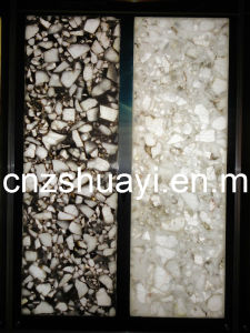 Decoration Resin Panel with The Natural Stone Inside of Interior Decoration Materials pictures & photos