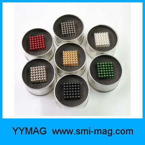 Colorful 5mm 216PCS Neodymium Nano Cube Ball Magnet pictures & photos