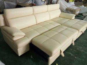 China Recliner Sofa, Living Room Modern L Shape Sofa, Bed Folding Function Sofa (967) pictures & photos