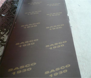 Marine Black Plywood pictures & photos