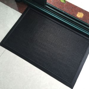 Anti Slip Non Skid Natural Recycled Tire Tyre Rubber Outdoor Indoor Welcome Entrance Rubber Floor Door Mats pictures & photos