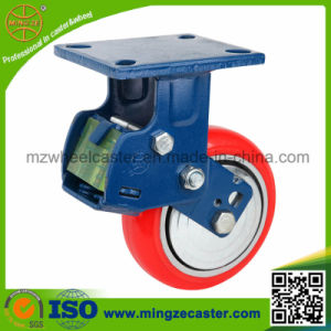 Fixed Medium Heavy Duty Shock Absorption Caster pictures & photos