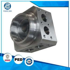 CNC Machining Forged Precision 40crmn Industrial Hydraulic Parts pictures & photos
