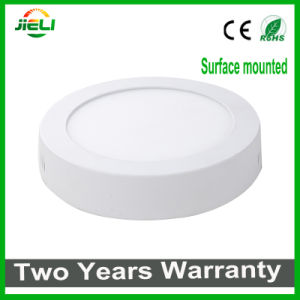 Hot Sale Round Surface Mounted 6W/12W/18W/24W LED Panel Light pictures & photos