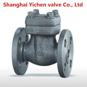 Forged Steel Spring Lift High Temperature Flanged Check Valve pictures & photos