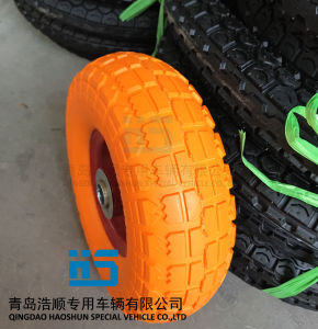 PU Wheel 3.50-4 PU Tire pictures & photos