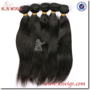 Silky Straight Hair Extension Virgin Indian Hair pictures & photos