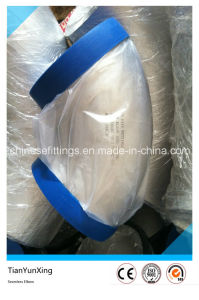 ASME Stainless Steel Seamless Wp316L 45degree Elbow with Plastic Cap pictures & photos