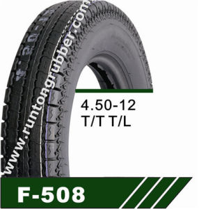 Motorcycle Tyre Lug Tread Pattern 400-12 450-12 pictures & photos