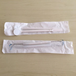 Cheap Plastic Dental Medical Probes Mouth Disposable Oral Mirror Set pictures & photos