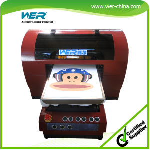 Eu moda cheap digital tshirt printing machine a3 for Cheapest t shirt printing machine