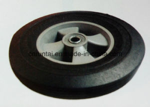10 Inch Solid Rubber Wheel for Trolley and Wheelbarrow pictures & photos