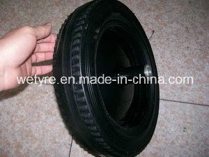 "Good Quality Powder Solid Rubber Wheel (14"")"