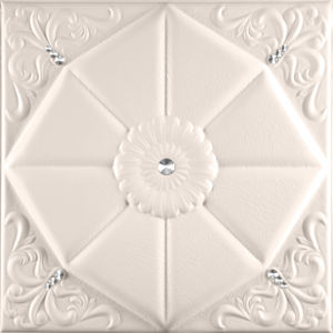 China Suoya 1094-19 Fireproof Decorative Leather 3D Wall Panel pictures & photos