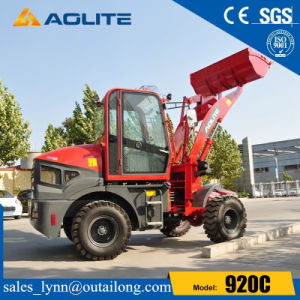 Europe Type Small Hydraulic Front Wheel Loader 920 for Sale pictures & photos