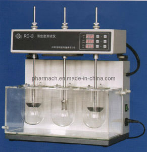 RC-3 Pharmaceutical Testing Dissolution Tester pictures & photos