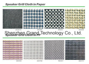 Guitar Amplifier Cabinet Grill Cloth Mesh Covering (ZP22017) pictures & photos