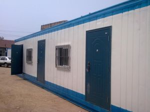 20FT Mobile Prefabricated Expandable Container House with Solar Panels pictures & photos