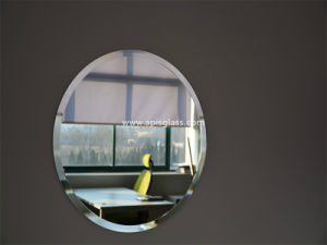 6mm Oval Clear Silver Coated Bathroom Frame Mirror/Safety Mirror with Beveled Edges pictures & photos