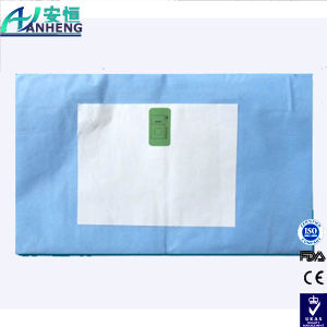 China Factory Split Surgical Drape with Adhesive Split Surgical Drape pictures & photos
