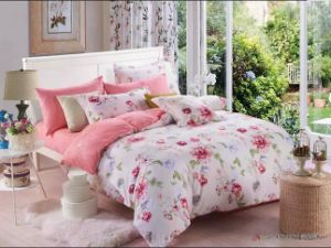 Luxury Flower Design 3D Cotton Duvet pictures & photos