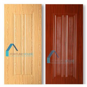 Beautiful Design HDF Melamine Molded Door Skin pictures & photos