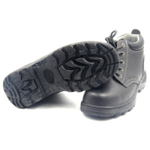 Rubber Outsole Cementing Cheap Industrial Safety Shoes pictures & photos