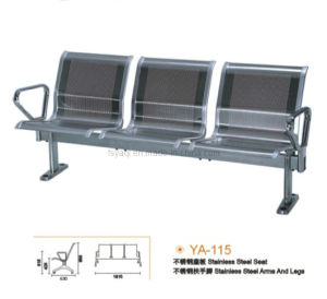 Armed Stainless Steel Beam Waiting Chair (YA-115) pictures & photos